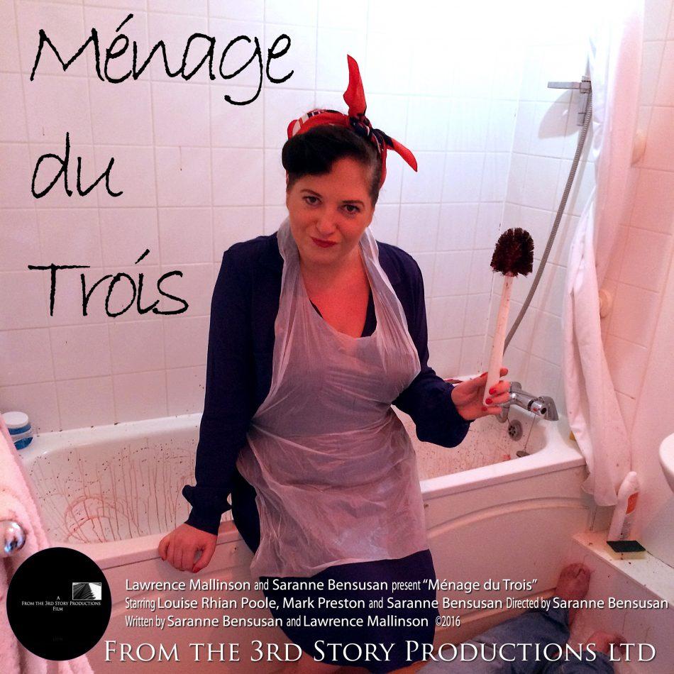 Menage square 950x950 - Ménage du Trois makes long list at Winchester short film festival